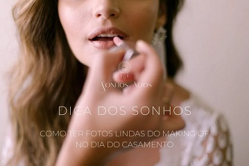 Making of da noiva